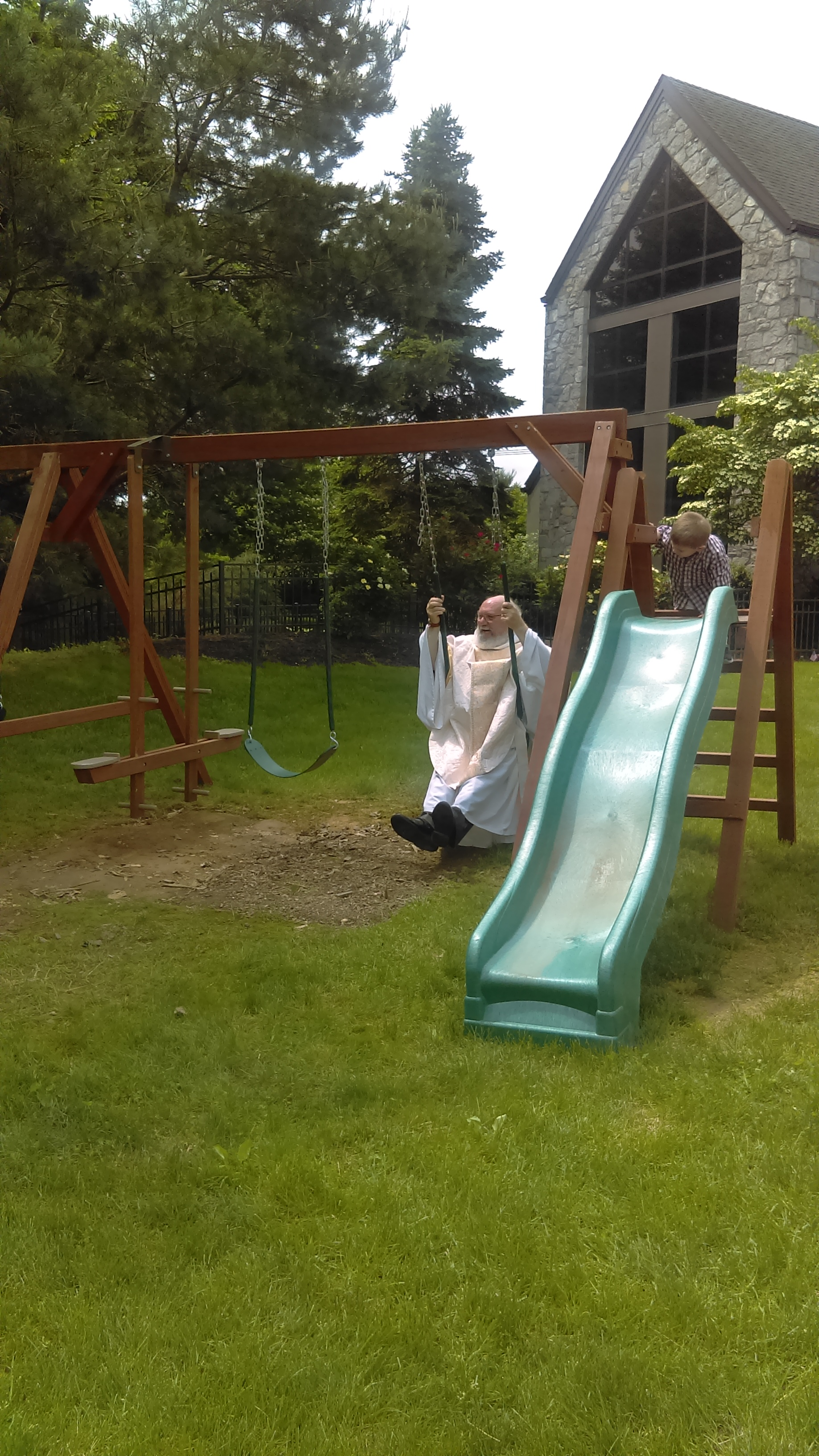 Father Casey New Swing Set
