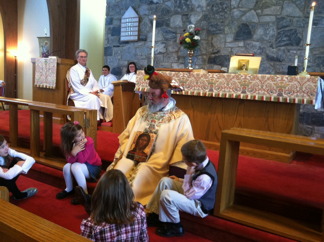 Father-Casey_Turkey-Sermon