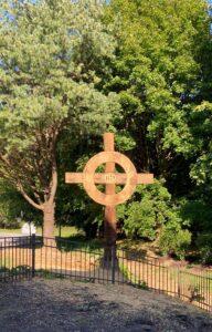 St. Edward's Memorial Garden Celtic Cross
