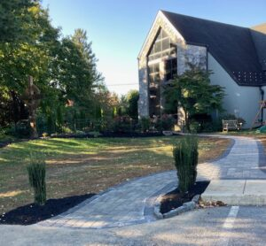Beautification of St. Edward's new memorial garden and contemplative space