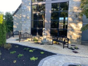 A meditative and contemplative space for prayer